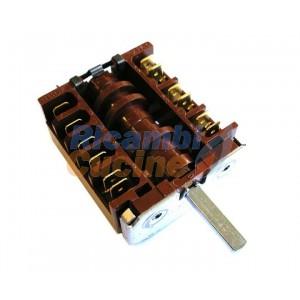 commutatore rotativo angolare per forni