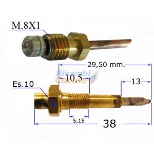 termocoppia per piano cottura valvolato varie marche 600 mm