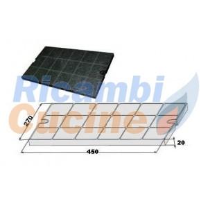 filtro per cappa a carboni attivi per vari modelli