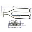 RESISTENZA GRILL FORNO W1200 V220 TIPO LOFRA CODICE ORIGINALE LOFRA 03010345